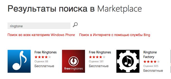 Программы для рингтонов на Nokia Lumia 710 и 800